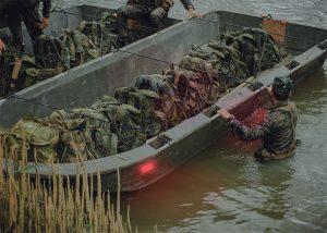 Marqueur Visipad rouge pour identification embarcation en mer
