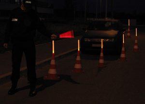 Contrôle routier par police