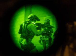 identification infrarouge equipier en intervention