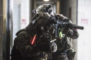 identification militaires en opération avec marquage couleur