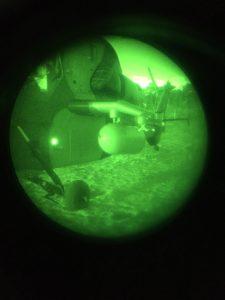 Marquage IR d'accès aux hélicoptères avec marqueur circulaire Lightshape