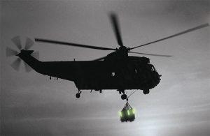 Signalisation de charges à larguer par hélicoptère