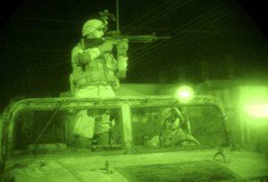Marquage IR de véhicules lors d'operations tactiques