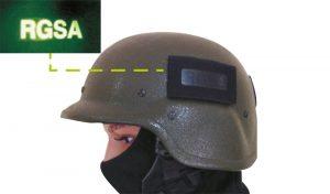 patch IR indicatif d'appel réversibles pour casques