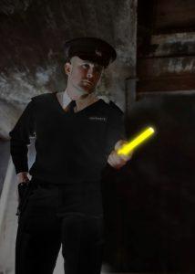 Patrouille de zone par police