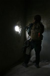 identification de militaire avec Cyalume