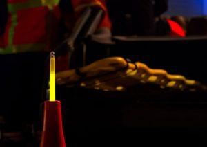 Bâton lumineux Cyalume pour la sécurité et le secours des personnes