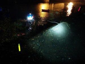 Identification de passages pour opérations de sauvetage par pompiers lors de crues