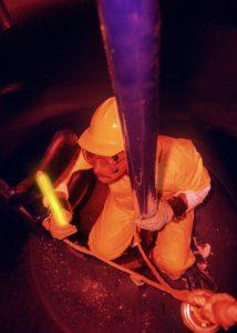 Lumière ATEX pour maintenance en espaces confinés et atmosphère explosive