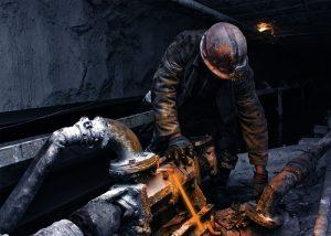 Éclairage san étincelle ni flamme pour activités minières