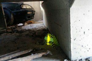 Marquage de bâtiment en sauvetage deblaiement