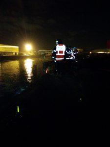 Marquage des acceè par pompiers sauveteurs lors d'inondations