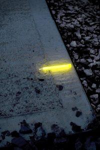 Marquage jaune des drains, buses et puisards