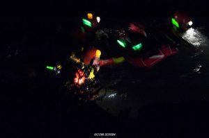 Marquage des sauveteurs lors d'opérations de sauvetage subaquatique