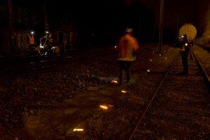 Alternative aux postes d'éclairages ferroviaires