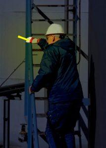Lumière de maintenance pour inspection de zones