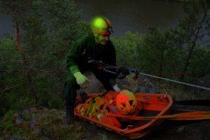 Ssauvetage par pompiers du Grimp avec marqueurs Lightshape