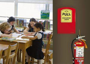 Bâton lumineux dans valise PPMS ou boitier Lightstation pour écoles