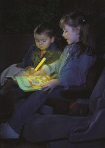 Éclairage ant-panique pour rassurer les enfants dans le noir