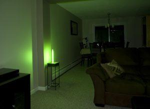 Éclairage d'appoint autonome pour hôtel