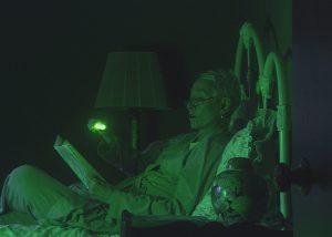 Éclairage d'appoint en maison de retraite