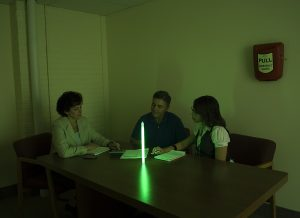 Lumière d'appoint en cas de panne électrique