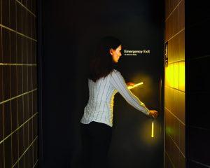 Lumière de secours en cas de panne électrique dans hôtel