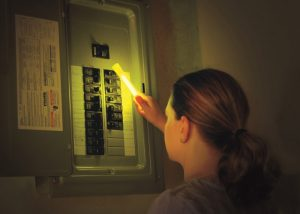 Lumière autonome sûre pour faire face aux pannes de courant