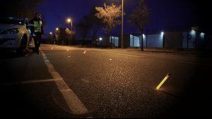 Marquage de zone de stationnement lors de panne de véhicule