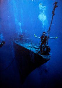 lumière de secours pour plongée sous marine