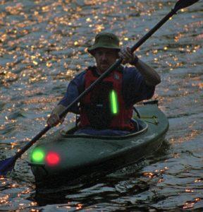 Éclairage d'appoint en navigation de nuit