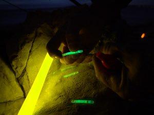 Flotteur lumineux cyalume pour pêche