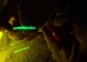 Leurre de pêche pour flotteur lumineux mini bâton cyalume