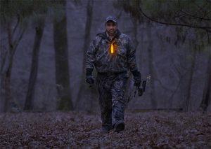 Repérage lumineux en sorties de chasse