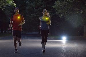 course a pied marquage coureurs de nuit