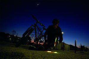 identification lumineuse velo de nuit