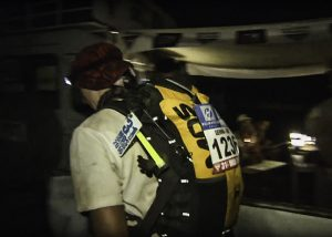marquage coureur trail de nuit marathon des sables