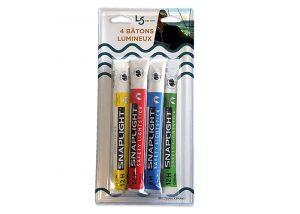personnalisation packaging blister batons cyalume