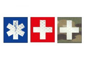 patch croix caducée ou croix secours medical