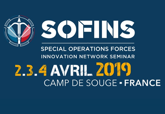 Cyalume exhibits at Sofins 2019 in France special forces show