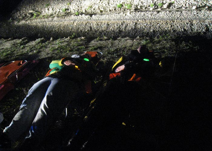 Cyalume a partner in a full-scale exercise simulating a TGV derailment in a rail tunnel