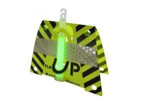 Flash Up jaune fluo pour maintenir un baton lumineux