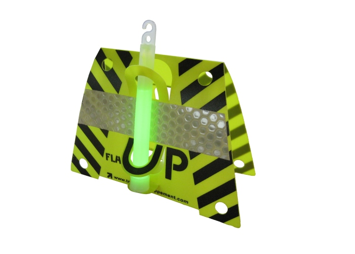 Fluorescent yellow Flash Up to hold the lightstick