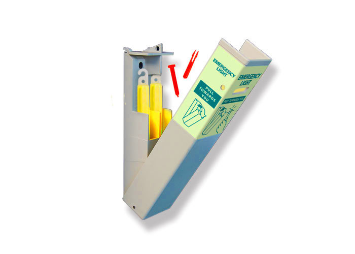 SEE System emergency evacuation box with lightsticks