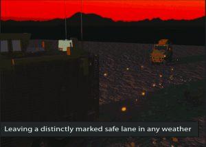 convois de véhicules après déminage IED