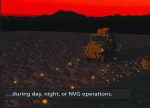 convois sécurisés de nuit après déminage de routes