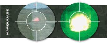 marquage visible par grenade d'exercice 40mm en entrainement