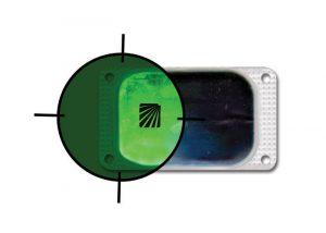 marqueur rectangulaire infrarouge visipad