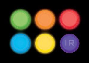 marqueurs circulaires Lightshape pour système razorback