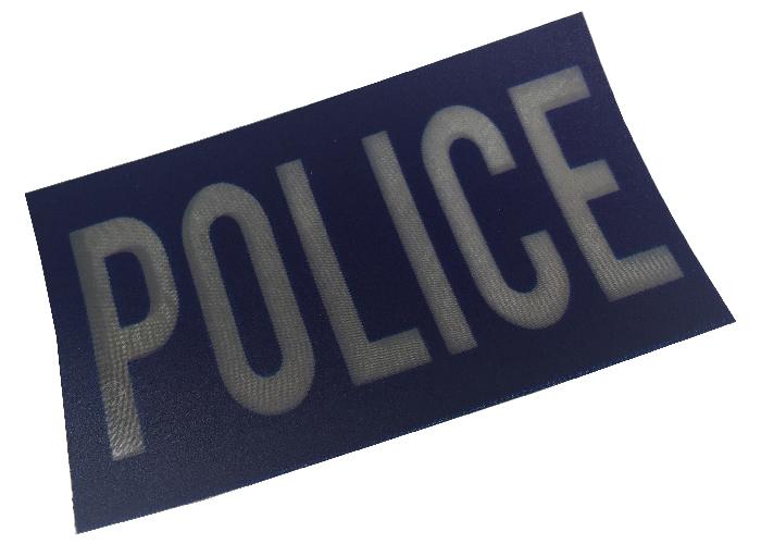 pacth police réfléchissant